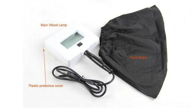 Wood's Lamp Skin Care UV Skin Testing Light Wood Lamp Skin Analyzer 220V-240V NEW Pro Wood Lamp UV Magnifying Beauty Facial Anal