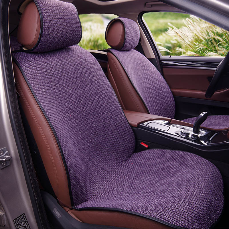 Yuzhe Linen car seat cover For Ssangyong Rodius ActYon Rexton Korando Tivolan XLV car accessories styling cushion bioelectric therapy machine electric oxygen concentrator physical therapy rehabilitation