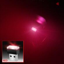 1 шт. авто-Стайлинг USB атмосферу светодиодный свет автомобильные аксессуары для KIA Rio k2 k3 K4 k5 KX3 KX5 Sportage R Cadenza Форте Ceed Carens