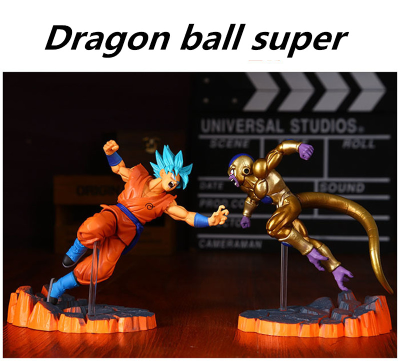 Anime Dragon Ball Z Goku Fighers Super Saiyan Prince Model