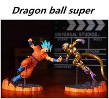 Anime Dragon Ball Z Goku fighers Super Saiyan Príncipe vegeta manga Trunks son gokou Gohan acción figura modelo colección de juguete regalo