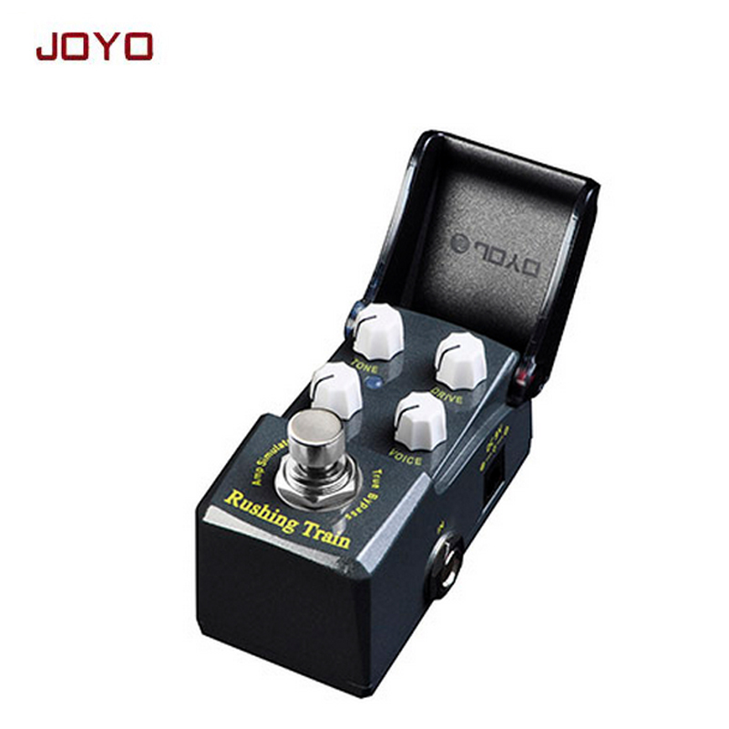JOYO IRONMAN Rush Train Amp simulator British tube distortion guitar effect pedal simulate vintage JCM800 true bypass free ship joyo ironman orange juice amp simulator electric guitar effect pedal true bypass jf 310 with free 3m cable