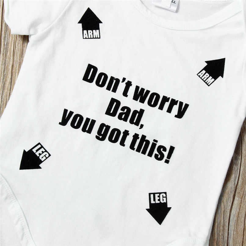 Verano Babys Mono para niños bebé niña niño manga corta carta mono ropa para bebé (niño o niña) # BL5
