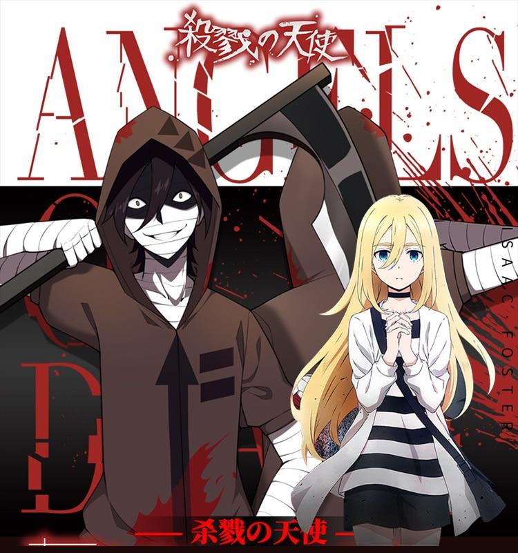 Angels of Death Cosplay Anime Zack Cartoon Cos Halloween Hoodie pants MEN WOMEN cosplay costume