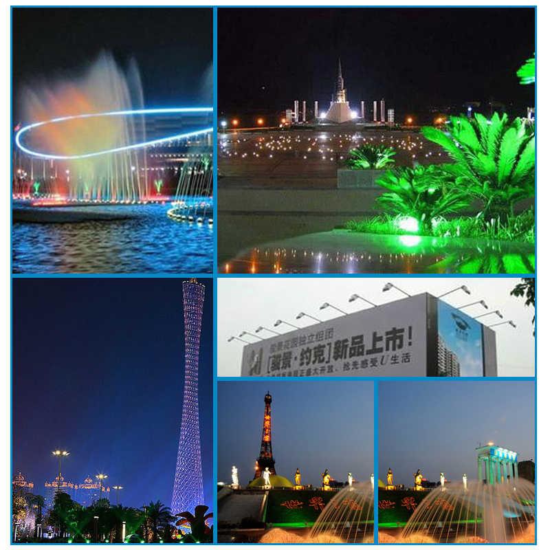 Nowy 10 W/20 W/30 W LED RGB kolor reflektor światła powodzi wodoodporny zewnątrz światła 85- 265 V pilot lampy ogrodowe