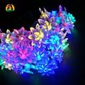 2017 led novelty festival decoração luz cordas para o feriado de casamento decoração do aniversário de lótus. iluminações de Lótus LED Svetla Luces