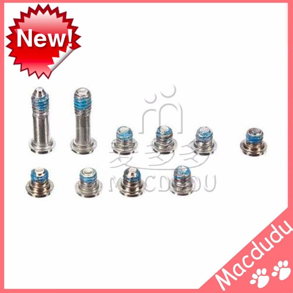 все цены на  10 set x New Bottom Case Screws For Macbook Air A1369 A1466 2010-2015 MC503 MC504 MC965 MC966 MD231 MD232 MD760 MD761  онлайн