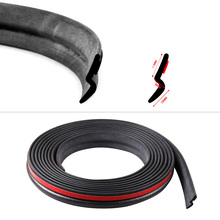 2m-5m Z-type Car Door Sealing Strip Hollow Rubber Seal Noise Reduction Sound Waterproof Dustproof Edge Guards