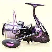 Long shot wheel spinning wheel fishing reel CNC Rocker Gapless shaft AF8000 14 large fish reel fishing Gadgets