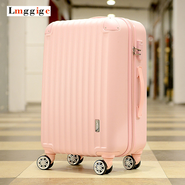 "20""24""28""inch Universal wheels Luggage, ABS Mute Rolling Travel bag, Password Lock Trolley Suitcase, Colorful Hand pull Box"