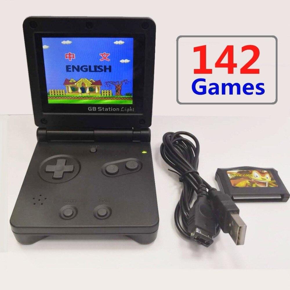 2,7 ''lcd 8 Bit Gb Station Handheld Spielkonsole Junge Retro Mini Gebaut In 142 Spiele Tragbare Video Gaming Konsolen 1 Player Geschenke Produkte Werden Ohne EinschräNkungen Verkauft