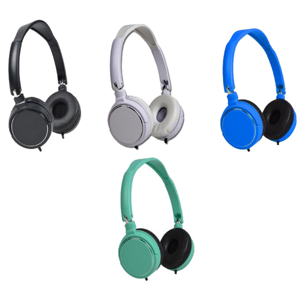 New headphones headset gamer 3.5MM Wired Connector Wire Headphones On Ear Foldable Stereo Headset For Earphone drop shipping