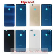 10pcs P10lite Back Battery Glass Cover For Huawei P10