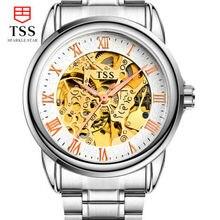 2016 новый стильный мужские часы multi особенности большой скелет часы механические мужчины luxury brand золотые механические часы светящиеся часы