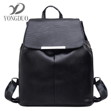 Yongduo 2017 женщин рюкзак кожаные рюкзаки softback сумки Производитель Сумка Элегантный дизайн случайные рюкзаки подростков рюкзак