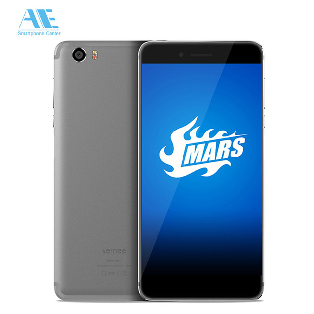 Original Vernee Mars MTK6755 Octa-core Android 6.0 Mobile Phone 4G RAM 32G ROM 5.5 Inch Cell Phone 4G Fingerprint Smartphone