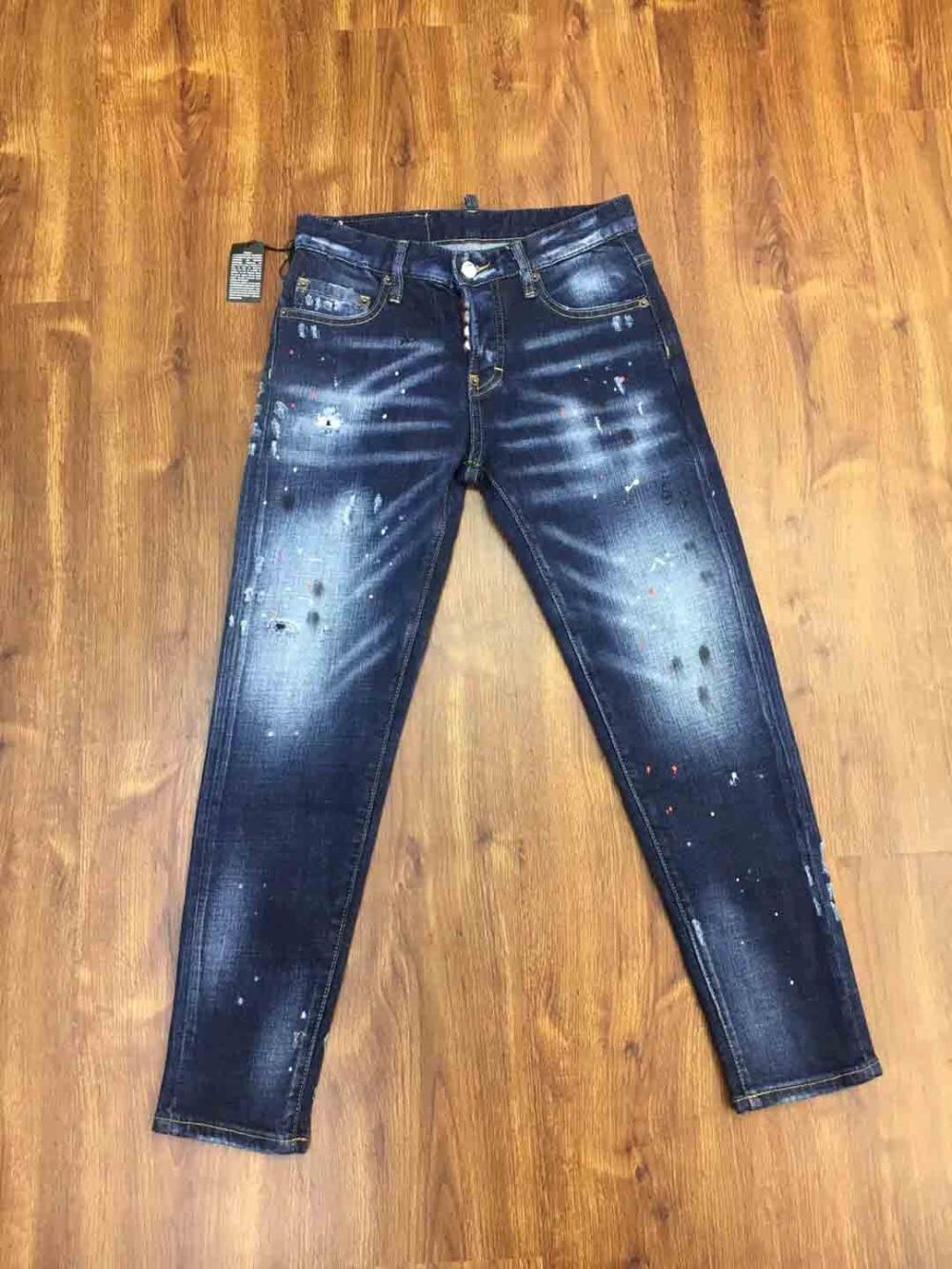 2019 New luxury italy Brand designer fashion zippers all denim skinny fit pleated biker   jeans   boyfriend for women
