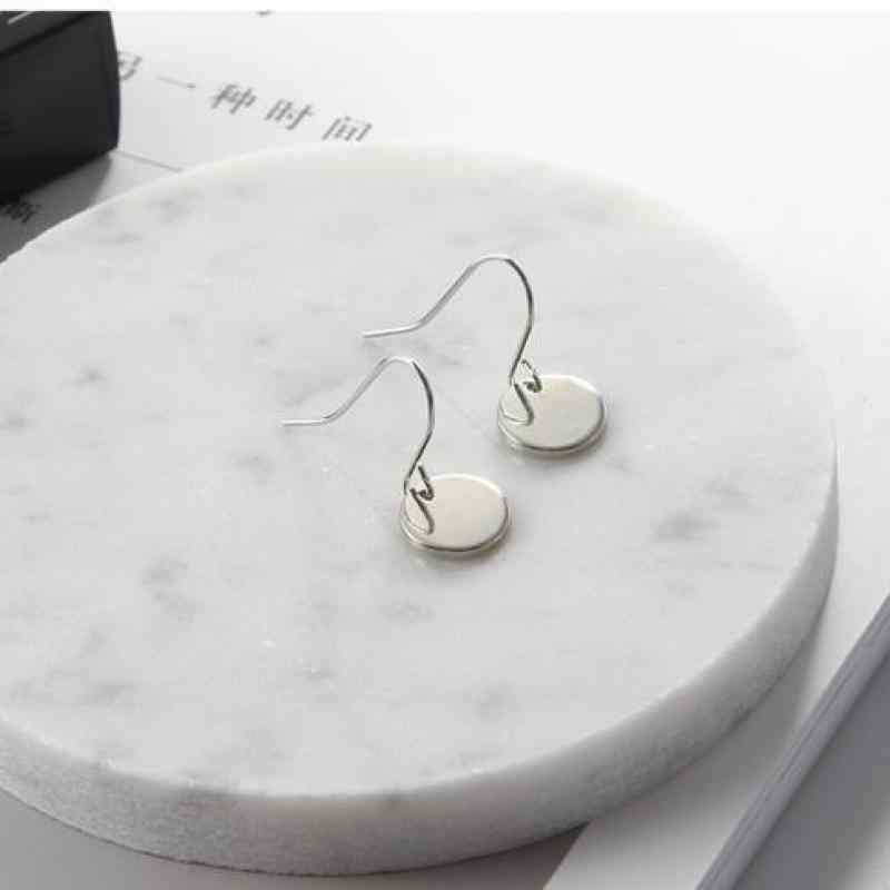 2016 Simple Fashion Jewelry Vintage Earring Women Brincos  Alloy Small Sequin Pendant Earrings Boucle D'oreille Femme Pendante
