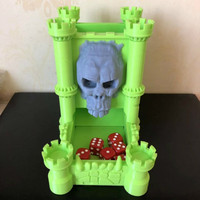 Dice Tower Dungeons And Dragons Dnd Miniature Building With Tray Resin Figure Model Kit Unpainted Kits 3D Printed