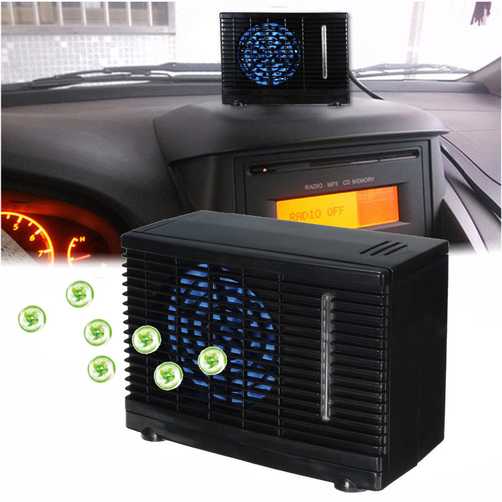 Portable 12V USB Mini Portable climatiseur humidificateur purificateur bureau Air refroidissement ventilateur refroidisseur ventilateur pour bureau maison