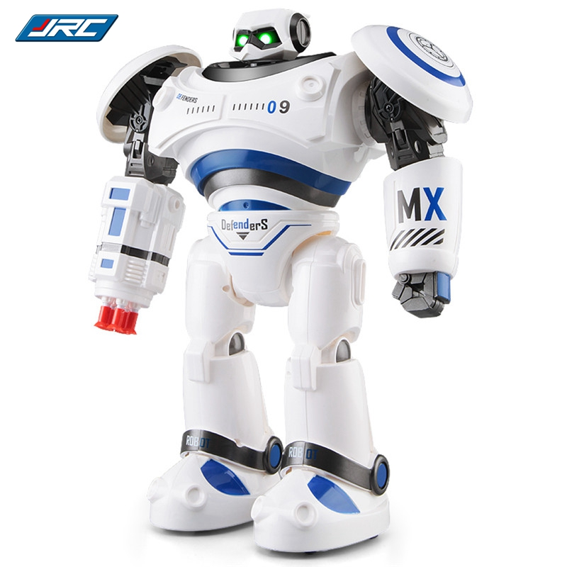 Original JJRC R1 Programmable Defender Intelligent RC Remote Control Toys Dancing Robot for Kids Birthday Holiday Gift Present original eachine e56 jjrc h47 rc