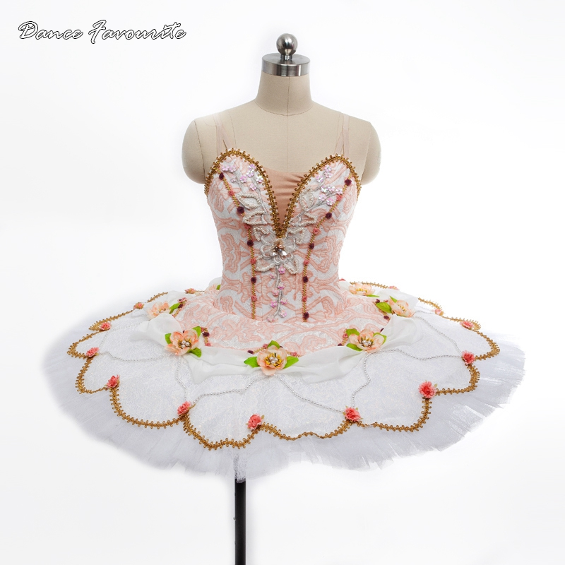 amazing & Stunning professional tutu white lace girl & women classical pancake ballet tutu ballerina dance costume tutu