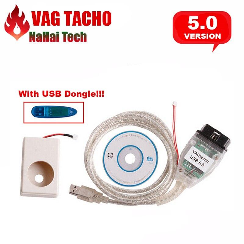 Цена за 2017 новые VAG TACHO 5.0 VAG TACHO NEC MCU 24C32/24C64 VAG TACHO USB V5.0 Профессиональный ЭКЮ чип тюнинг диагностический инструмент