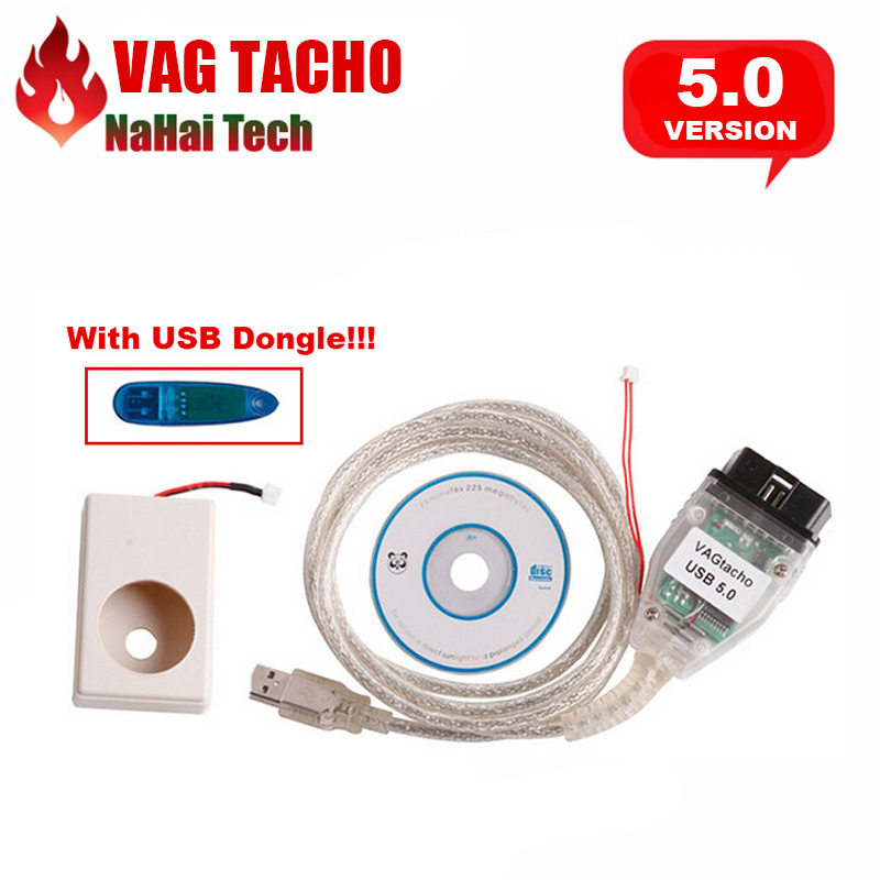 Prix pour Date Vagtacho USB Version V 5.0 VAG TACHO NEC MCU 24C32/24C64 VAG TACHO USB V5.0 Professionnel ECU Chip Tuning Outil