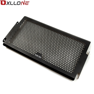 Image 2 - For Yamaha Mt07  MT 07 2014 2016 XSR700 radiator protective cover Guards Radiator Grille Cover Protecter