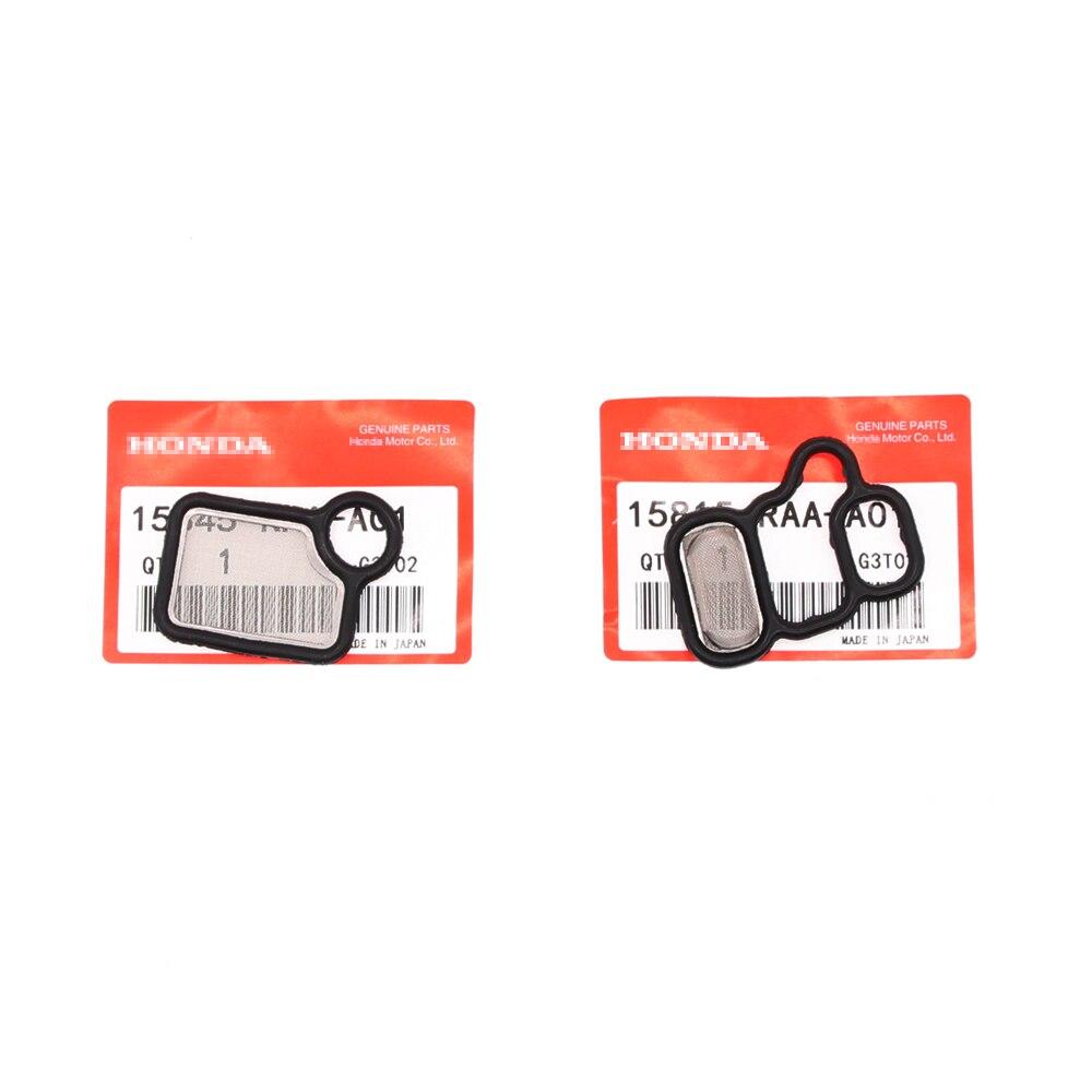 Solenoid Gasket Spool Valve Filter For Honda Accord RDX CR-V Element Fit Acura 15815-RAA-A01 15815-RAA-A02 15845-RAA-A01