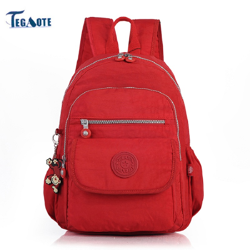 TEGAOTE 2018 Small Backpack for Teenage Girl Backpacks Bolsa Mochila Feminina Escolar Casual Nylon Waterproof Mini Women Bagpack 2018 new 7 colors small backpack for teenage girls female backpacks mochila feminina escolar casual mini women school bagpack