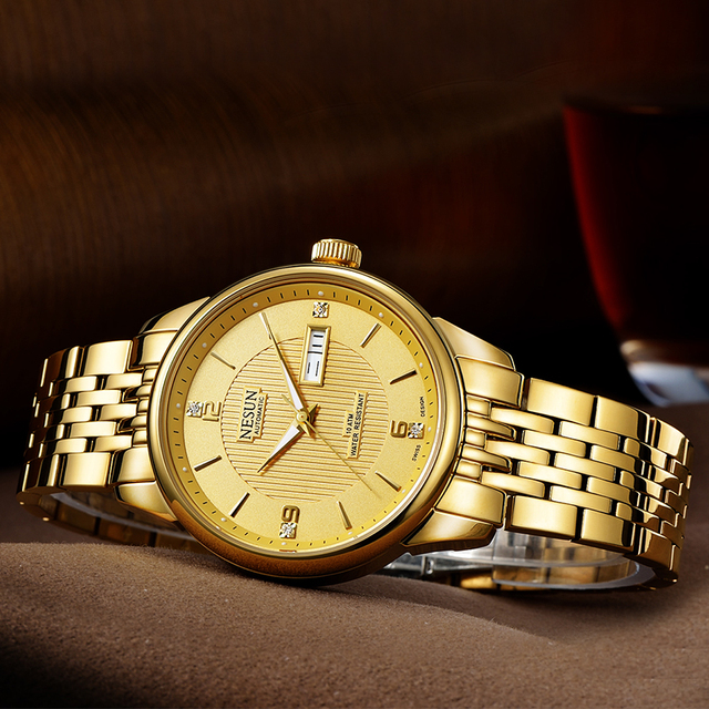Nesun Men Watch Luxury Brand Auto Self-winding movement 3