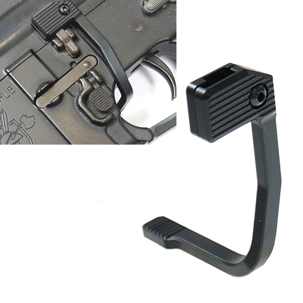 Tactical Magazine Speed Loader BAD Aluminum Alloy Enhanced MAP Bolt Catch Extender Release Lever Side Plate For M4/M16/AR15