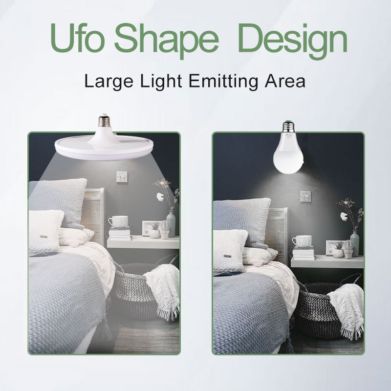 UFO Bulbs E27 Led Bulb Light 220V 15 60W Ampoule Bombillas Led Lamp Aluminum Lamps Lights for Home Lighting in LED Bulbs Tubes from Lights Lighting
