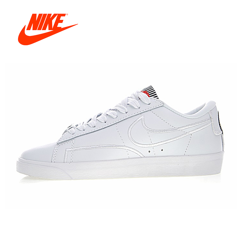 Original New Arrival Authentic Nike Wmns Blazer Low SE LX Men's Breathable Skateboarding Shoes Sport Outdoor Sneakers AJ0866-100