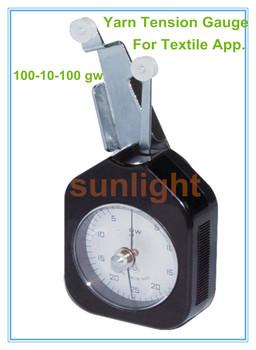 SL-100 przędzy Tester napięcia 100-10-100 gw dla przemysłu tekstylnego tanie i dobre opinie ANALOG SHUERLI 100gw 5 gw + -1 Degree