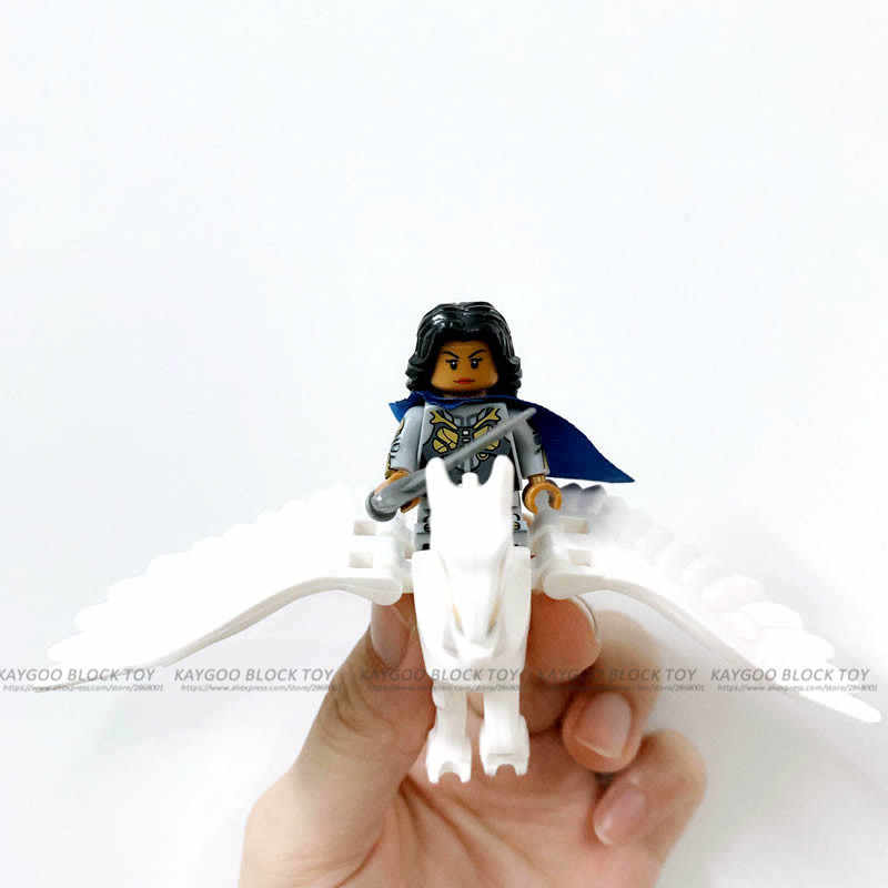 Single Sale Super Heroes Star Wars 813 Valkyrie Model 1295 horse Building Blocks Figure Bricks Compatible Legoed Ninjaed