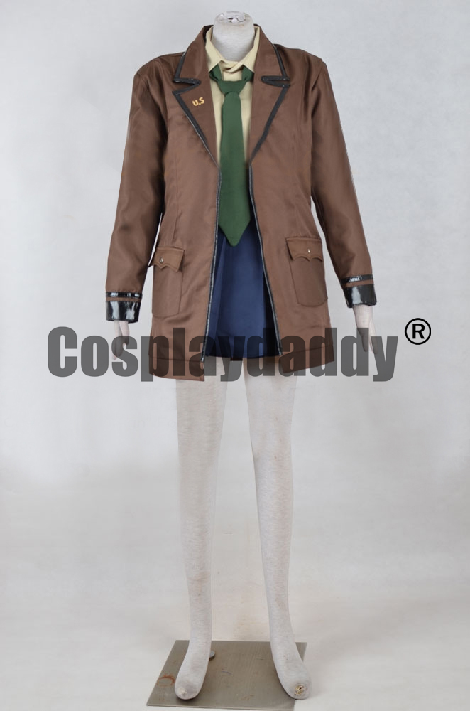 495c72cc3fc Girls  Frontline M1 Garand Cosplay Costume F006-in Game Costumes from  Novelty   Special Use on Aliexpress.com