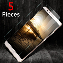 For Huawei Ascend Mate 7 8 9 p10 p10plus Honor 7 8 5c 6x v9 Screen Protector Tempered 2.5D round edge 9H Tempered Glass Film