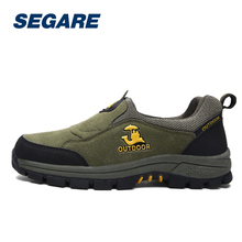 Big Size Hiking Shoes Men Breathable Waterproof Climbing Boots Climbing Trekking Sneakers Shoes SE091202
