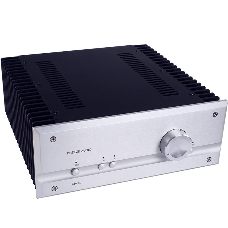 Finished P35 HiFi Pure Class A Power Amplifier 35W+35W Stereo Audio Power Amp 2018 New
