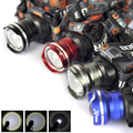 4 Color Ultra Bright 2000 Lumen T6 LED Headlamp AA Headlight Zoomable XM-L T6 Head Lamp Light Lantern for Camping Hiking Cycling