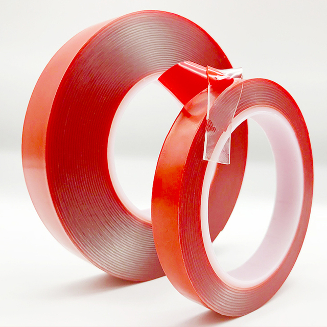 3mx10mm Double Sided Adhesive Tape Sticker Acrylic Transparent For Home Room Mirror Window DIY Car High Strength No Traces Fixed