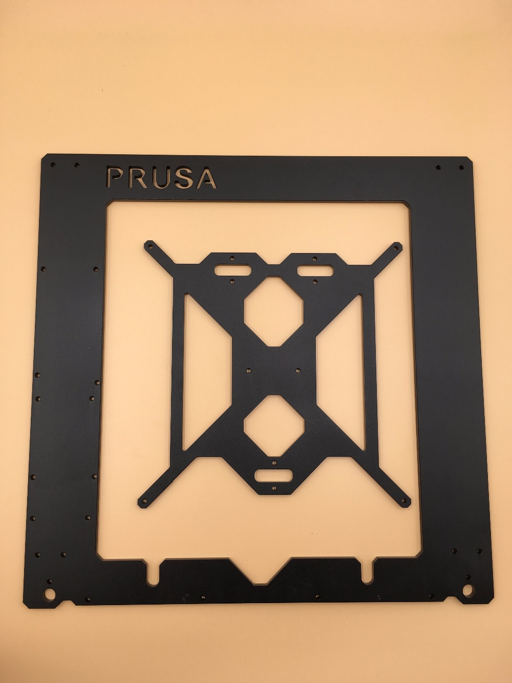 RepRap Prusa i3 frame kit Rework 3D printer aluminum  alloy made  upgraded 3D Printer DIY 6 mm Anodized oxidation букет букет фантазия
