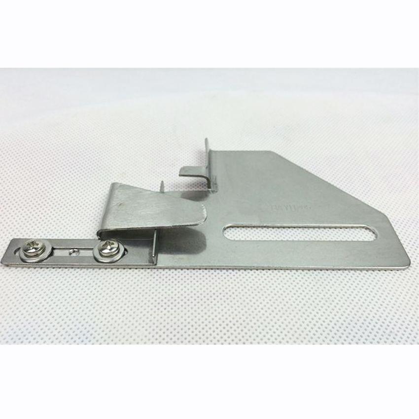 Dayu205  Folder Adjustable Cloth Guide JinLei Hemmer Used For 2 Or 3 Needle CoverStitch Machine