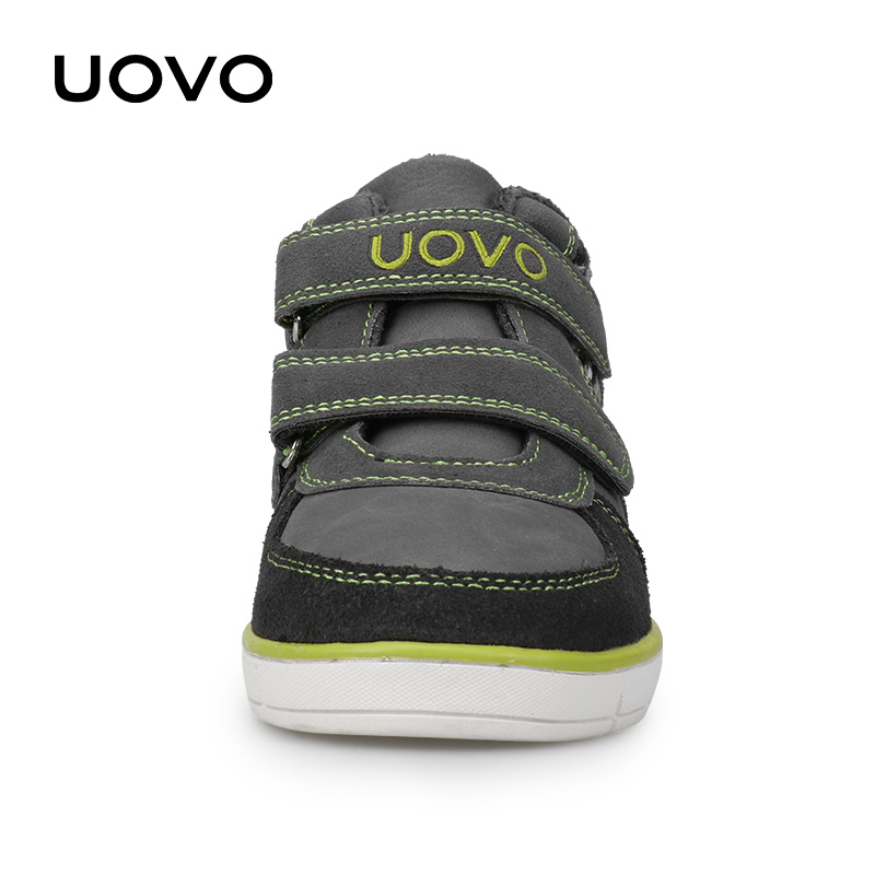 Image 4 - UOVO Kids Casual Shoes 2019 New Fashion Boys And Girls Sneakers Autumn Winter Kids School Shoes Childrens Footwear Size 27# 35#Sneakers   -