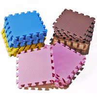 9 pc/Lot bébé EVA mousse jeu Puzzle tapis entrelacé exercice tapis de sol tapis pour enfant jouets tapis pour enfants chaque 30*30cm