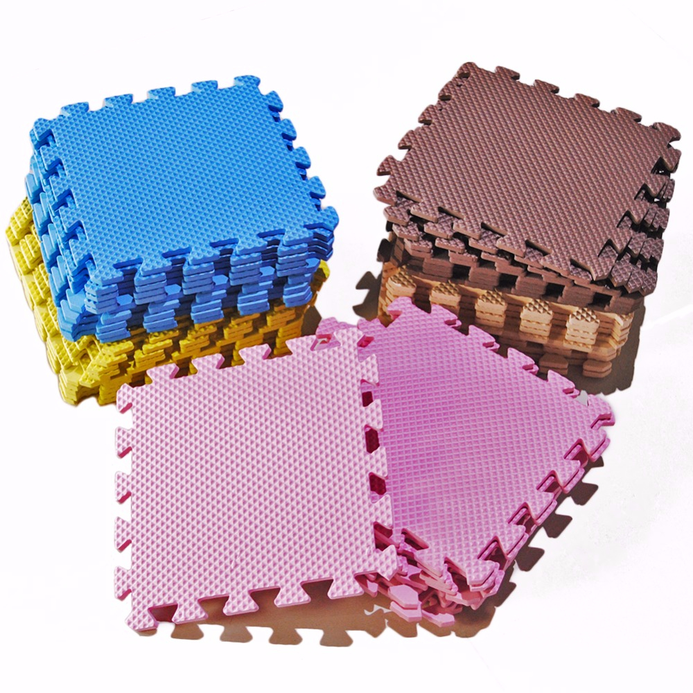 9pc/Lot Baby EVA Foam Play Puzzle Mat Interlocking Exercise Floor Carpet Rug For Kid Toys Carpet For Children Each 30*30cm