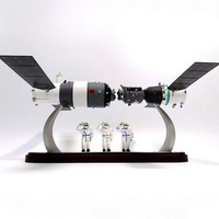 1/50 Scale Shenzhou Spacecraft Aircraft Shuttle Model Alloy Metal Die Cast Spaceship Satellite Space Ship Satellite Model