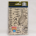 Europe Cartoon Style 2D Passport Holder PVC  Passport Cover Case For Travel,14*9.6cm Card & ID Holders Mini Order 1pcs-The owl